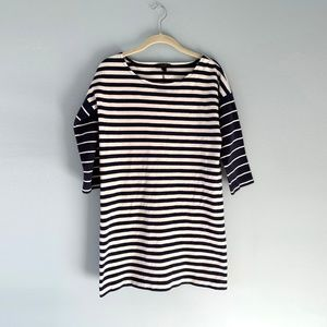 J.Crew Striped Tunic Dress SZ XS